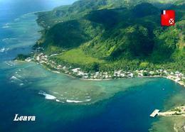 Futuna Island Leava Aerial View New Postcard - Wallis Y Futuna