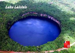 Wallis Island Lake Lalolalo New Postcard - Wallis Y Futuna