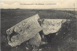 - Dpts Div.-ref-AP891- Charente Maritime - Ile D Oleron - Dolmen D Ors - Dolmens - Cliché Braun N° 1203 - - Ile D'Oléron