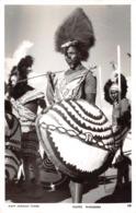 NANDI WARRIORS ~ AN OLD REAL PHOTO POSTCARD #2707 - Africa