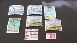 Timbres Anciens Vendus à 20% De La Valeur Catalogue  COB 1133/1135** - Bélgica