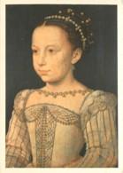 Art - Peinture - Histoire - François Clouet - Portrait De Marguerite De France Enfant (Musée Condé à Chantilly) - Carte - Peintures & Tableaux