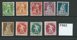 Bavaria 1920 Republic Issues. 7 Values To 75pf - Bayern