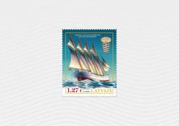 Latvia / Lettonia / Lettland – 2020  Four-masted Sailing Vessels - SHIP - MNH - Barche