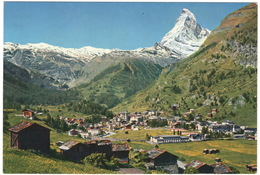 Zermatt Mit Matterhorn - (Schweiz/Suisse) - 1971 - VS Valais