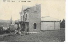 HAMOIR  Villa Coelen Et L église. - Hamoir