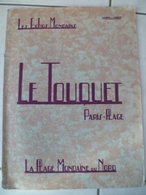 LE TOUQUET PARIS PLAGE  Les échos Mondains La Plage Mondaine Du Nord 1926-1927 - Bücher, Zeitschriften, Comics
