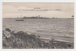 AC595 - Environs De VANNES - Vue Prise De Moréac Sur L'île De BOEDIC (bouédic ?) - Vannes