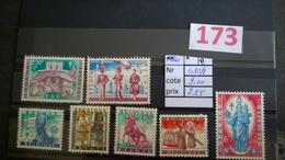 Timbres Anciens Vendus à 20% De La Valeur Catalogue  COB 1082/1088* - Neufs