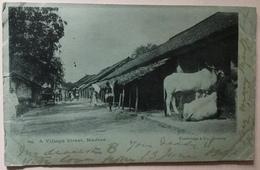 A Village Street, Madras - Inde