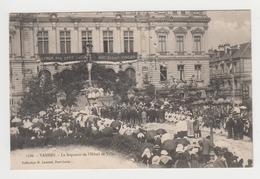 AC599 - VANNES - Le Reposoir De L'Hôtel De Ville - Animée !!!! - Vannes