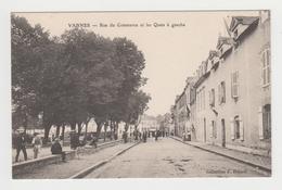 AC602 - VANNES - Rue Du Commerce Et Les Quais à Gauche - Vannes