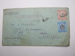 HONGKONG , Einschreiben Nach Hamburg 1906 - Hong Kong (...-1997)