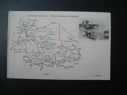 Carte Géographique   Colonies Françaises Chari  (AOf)  édition A. Meunier - Other