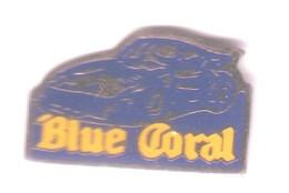 L120 Pin's PORSCHE OU ALPINE RENAULT  BLUE CORAL Aquarium à Dagneux Ain Poisson Achat Immédiat - Porsche