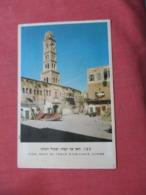 Acre Khan El Umdan With Clock Tower  Israel  Ref  3863 - Israel