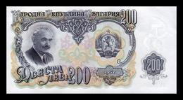 Bulgaria 200 Leva 1951 Pick 87 SC UNC - Bulgaria