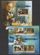ML121 2015 MALDIVES ANIMALS PETS FAMOUS PEOPLE LOUIS PASTEUR KB+BL MNH - Louis Pasteur