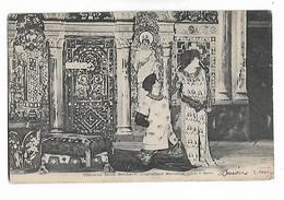 "Théadora  (  Sarah  Bernhardt   )  Poignardant  Marcellus  "" - Artiesten"