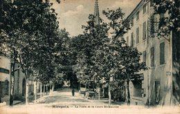 11204      MIREPOIX   LA POSTE ET LE COURS ST MAURICE - Mirepoix