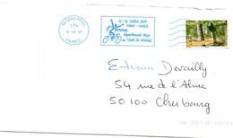 Sens 2007 - Flamme Tour De France - Cyclisme Vélo - Yonne Joigny Chablis - Poststempel (Briefe)