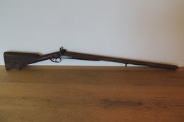 Vieux Fusil De Chasse,à Pistons Et à Restaurer Fait à MONTAUBAN (82) - Sammlerwaffen