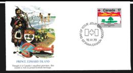 Canada FDC 1979 Flags - Prince Edward Island (G106-60) - Briefe