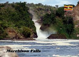 Uganda Murchison Falls New Postcard - Oeganda