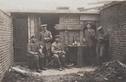 CARTE PHOTO ALLEMANDE - GUERRE 14-18 - KEMMEL - BELGIQUE - BATAILLE DE KEMMELBERG - War 1914-18