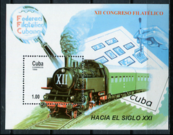 Cuba 1999 / Railways MNH Züge Trains Trenes / C10012   1-22 - Treni