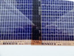 Microfiche Renault 11 C37A Etc 1983>1990  Pr1114 Lot De 2 - Visionneuses Stéréoscopiques