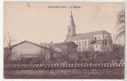 CPA De VILLIEU, L'Eglise - Autres Communes