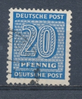 Duitsland/Germany SBZ West-Sachsen 1945 Mi: 134x (Gebr/used/obl/usato/o)(5074) - Soviet Zone