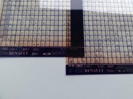 Microfiche Renault Clio C57-S57  9006> Pr1262 Lot De 2 - Visionneuses Stéréoscopiques