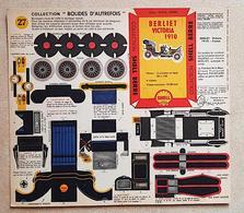"""COLLECTION """"BOLIDES D'AUTREFOIS N°27 Berliet Victoria 1910 Shell. NEUF - Kartonnen Modellen / Lasercut"""