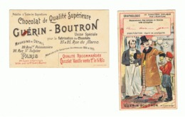 Chromo - Chocolat Guérin - Boutron - GRAPHOLOGIE - Esprit De Prodigalité (fr82) - Guérin-Boutron