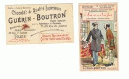 Chromo - Chocolat Guérin - Boutron - GRAPHOLOGIE - Caractère Hautain  (fr82) - Guérin-Boutron