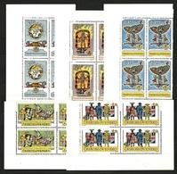 1962 Czechoslovakia MNH - Mi 1355-1359 Yv 1230-1234 ** MNH (corners) - Tschechoslowakei/CSSR