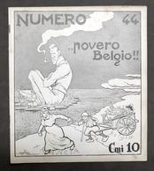 Rivista Satirica Illustrata - Numero - N° 44 - Ottobre 1914 - Golia, Boetto - Unclassified
