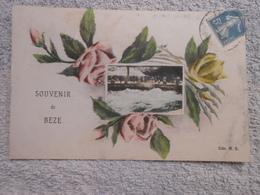 Cpa Beze Souvenir - France