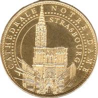 67 STRASBOURG LA CATHÉDRALE MÉDAILLE SOUVENIR ARTHUS BERTRAND 2013 JETON TOURISTIQUE MEDALS TOKENS COINS - Arthus Bertrand