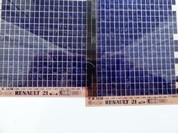 Microfiche Renault  21  L48D Etc  1986 > Pr1170 Lot De 2 - Stereoscoopen