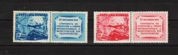 1949 - Conference Des Syndicats Des Transports Mi No 1193A/1194A Et Yv 1085/1086 MNH - Ungebraucht