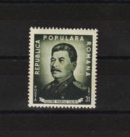 1949 - STALIN  Mi No 1195A Et Yv No 1087 MNH - Ungebraucht