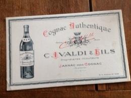 Buvard : Cognac Authentique - Liqueur & Bière