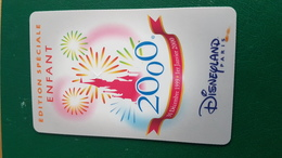 Passeport Disney  Tres Rare An 2000 Enfant - France