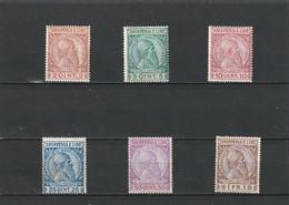 1913 MH Mint Hinged Sc.35-40, Mi. 29-34, Yv. 25-30         019 - Albanien
