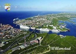 Curaçao Willemstad Aerial View Curacao New Postcard - Curaçao