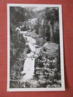 RPPC  Sweet Grass Falls Melville - Montana    Ref  3864 - Altri