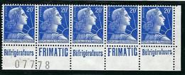 France - Thématique Marianne De Muller - N° 1011B ** - Type 1 - Timbre Pub - TTB - FRIMATIC - Publicités